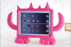 New tablet foam cover kids shock proof protection rubberised case/stand cover for Apple iPad