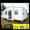 flat pack and expandable prefab container house,low cost 20ft container house