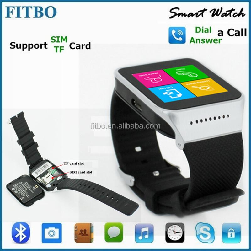 mtk6260 1 54inch dual sim wrist watch mobile phone for meizu oppo   buy dual sim wrist watch
