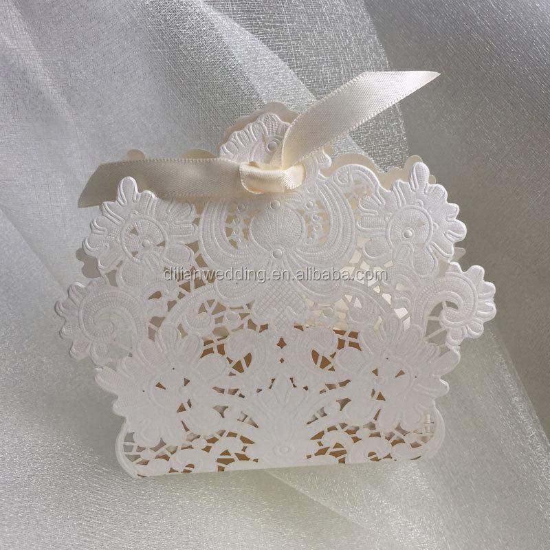 Beautiful Tassel Decorated Long Size Cards Weddingideal Products