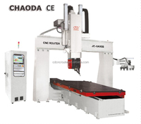 Factory low price CE supply hot sale 4 axis 5 axis high z mould cnc machine/automatic 3d wood carving cnc router