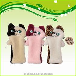 cat cartoon custom made golf head cover animal golf club head cover