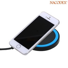 Trending Q5 wireless USB Charger Pad with Receiver for iPhone5/5C/5S/6/6plus Portable Mobile Phone Battery Charger !
