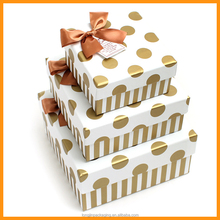 Dot Zebra Pattern Printing Paper Gift Boxes From Guangdong