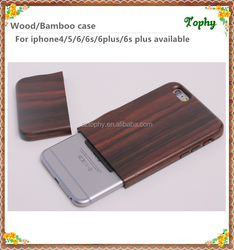 High Quality For iPhone 6 Real Wood Case Handmade,Wooden Mobile Phone Case for iPhone 6
