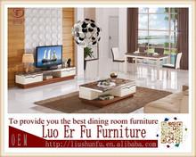 2015 Hot sale popular modern natural stone marble top ikea coffee table CJ0036