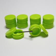 Colorful storage jars non stick 3ml 100% food grade silicone container