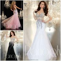 JM.Bridals CW3162 Attractive V-Neck cut mermaid bare back sexy long dresses evening dresses with stones