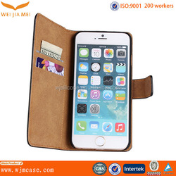 for iphone 6 case with card slot book ID wallet flip leather phone case cover, wallet case for iphone