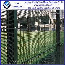 china wholesale Galvanized and pvc coated high security fence netting