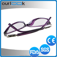 2015 Wholesale Good Quality Anti Blue Ray Cheap Rimless Reading Glasses