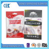 clear opp bag/clear plastic bag with hang hole/lear self adhesive seal plastic bag