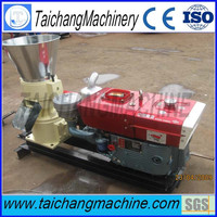 China taichang CE 100kg/hour flat die feed coconut granulator