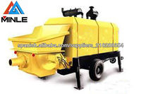 best selling concrete pump for sale in Indonesia 20m3/h Max. output 6Mpa pumping pressure Chinese Machine alibaba supplier
