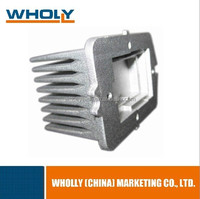 OEM Factory Made Aluminum customer request die casting aluminium parts