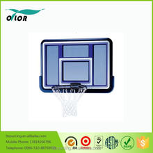 Deluxe blue wall mounting acrylic basketball backboard system with PE frame