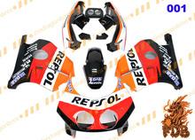 R E P S O L MC22 Aftermarket ABS Injection Molding Fairing Bodykit Fairing Cover CBR250RR MC22 1990 91 92 93 94 95 96 97 98 99