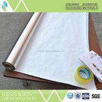 Weight 50-350gsm PET Woven Aluminum Foil Fabric