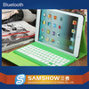 Folio best logitech leather case 9.7 tablet pc wireless bluetooth keyboard for iPad air Suppliers