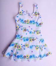 Factory Price Pretty One Piece Dress Swimwear For Kids