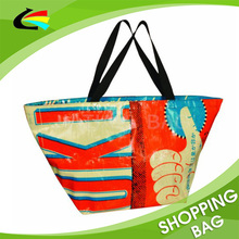 T Shape Over Shoulder PP Woven Shopping Tote