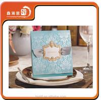 high-grade best selling fold wedding invitation card printing