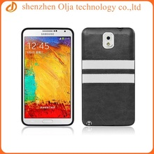 Fancy unique pu leather coating cover customized back cover for samsung galaxy note 3 n9000