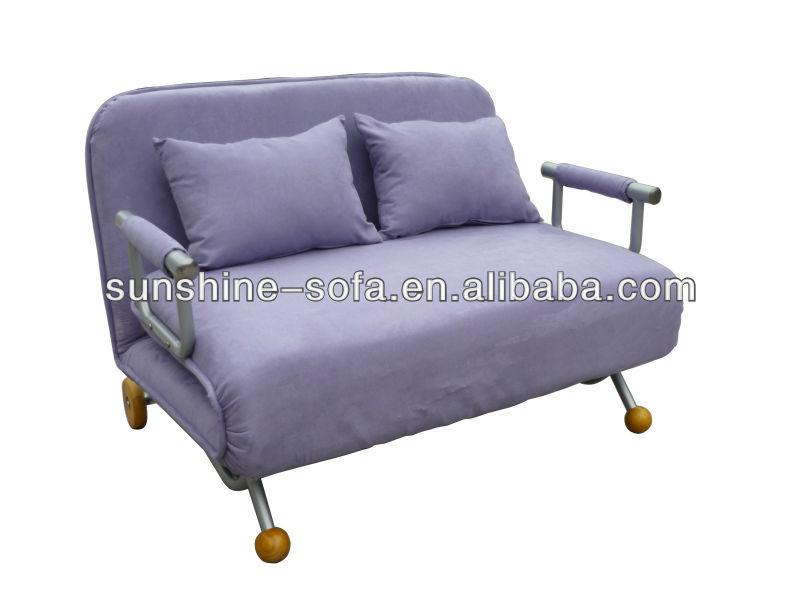 Muebles finos de luz azul microfibra funda de sof cama de for Fundas sofa carrefour