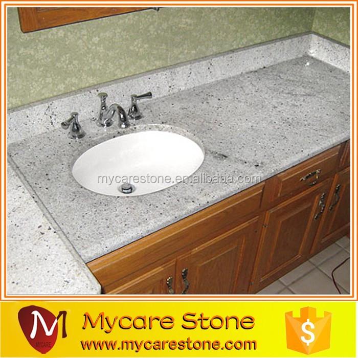 Commercial Bathroom Sink Countertop Kashmir White Granite Countertop Buy Prefab Granite