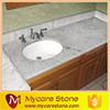 Commercial bathroom sink countertop, Kashmir white granite countertop