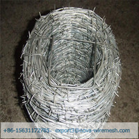 Low cost galvanized barbed wire for sale