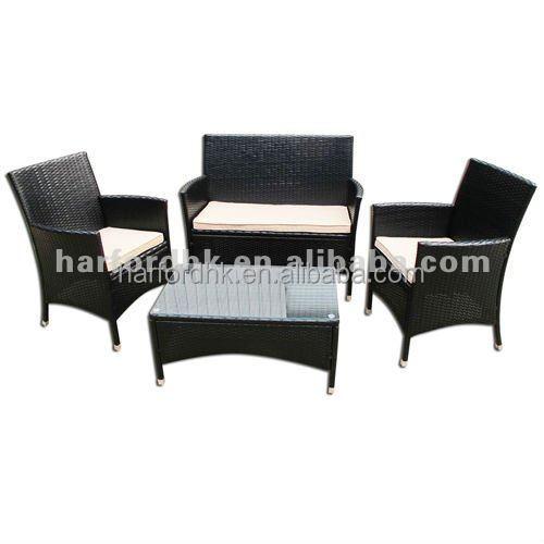 garden rattan furniture sets black color buy rattan furniture rattan