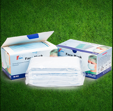 2015 new stock good quality 3ply medical mask/ flat mask/ surgical mask