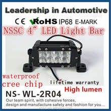 4inch 24W dual row led light bar 4wd/2wd offroad led light
