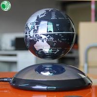 Christmas gift decoration ornament auto free rotation amazing magnetic levitation floating desktop globe
