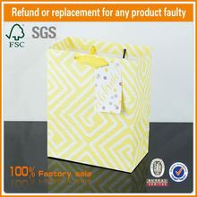new desgin Flat Handle Paper Bag Fancy Gift Pouch