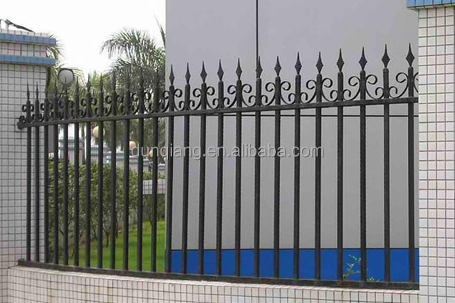 Modern garden fence and gates steel fence gates grill - Cercas de hierro ...