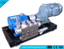 2015 hot selling CE ISO plunger pump