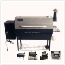 Large inside inches portable wood pellet barbecue smoker/grill.