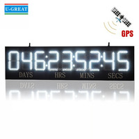 9 digits led countdown crossfit digital timer
