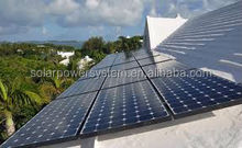 10kw DC/AC Renewable and Green high converting house solar system supply