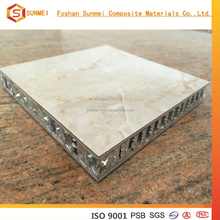 2015 fashion design marble aluminum honeycomb sandwich panel