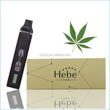 2015 MST Excellent newest dry herb vaporizer original hebe electric cigarette