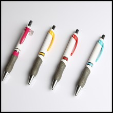 Comfortable Grip romotional Gift products pen in Plastic ball pens