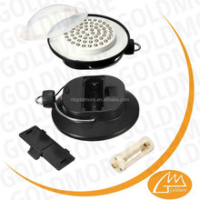 GOLDMORE New arrive 60 led hanging camping light with hook,Battery operation small umbrella tent light