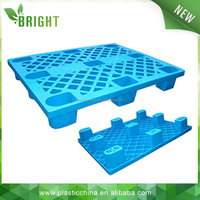 single faced blue packing plastic pallet