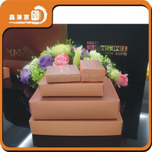 OEM white card full color small containers for gifts