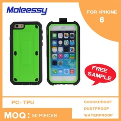 Shockproof case pack for apple iphone 66