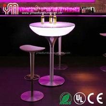 LED lounge furniture coffee table/cube