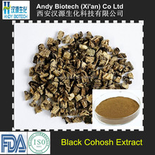 10 Years Gold Supplier Black Cohosh Extract 2.5% Triterpenoid Saponis